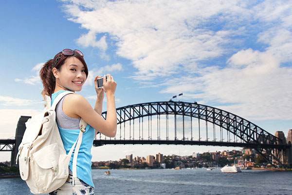 Backpacker Sydney